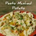 Easy Pesto Mash