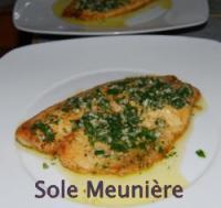Juicy Fresh Sole Meuniere