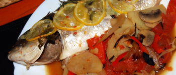 Baked Mediterranean Fish Recipe