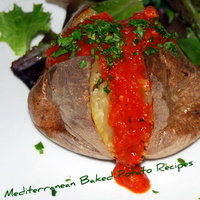 A Great - Healthy - Mediterranean Baked Potato Recipe