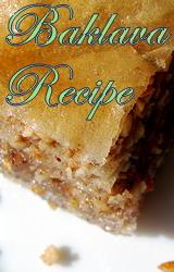 The Great Baklava Recipe