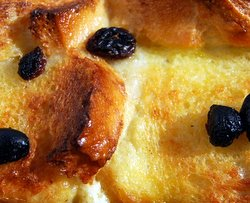 Spicy Bread and Butter Pudding
