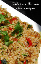 Mediterranean Diet Brown Rice Recipe