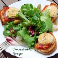 A Great - Healthy - Bruschetta Recipe