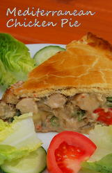 Mediterranean Chicken Pie
