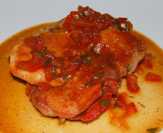 Mediterranean Chicken Saltimbocca