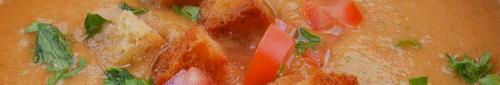 Healthy Cold Gazpacho