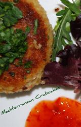 Mediterranean - Crab Cakes Recipe