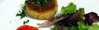 Mediterranean Crab Cakes Recipe
