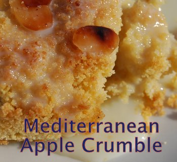 Apple Crumble Recipe With A Spicy Mediterranean Accent Quick Easy And Healthy