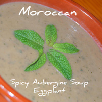 A Quick- Healthy - Eggplant Soup Recipe