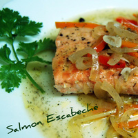 Salmon Escabeche