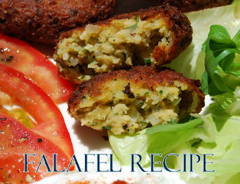 Falafel Recipe with great spices