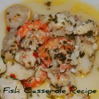 A Mediterranean Fish Casserole Recipe