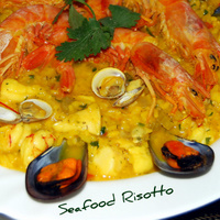 A Mediterranean Seafood Risotto Recipe