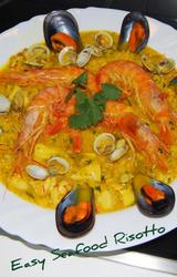 Mediterranean Diet Seafood Risotto Recipe