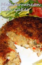 Mediterranean Fish Cake Recipe