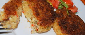 Great Mediterranean Fish Cake