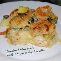 Fish Pie - upside down - Recipe