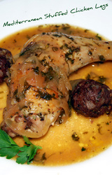 Mediterranean - Greek Stuffed Chicken Recipe