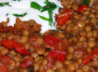 Great Lentil Stew from Morocco.