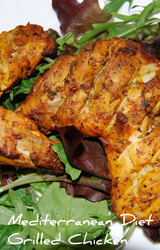 Mediterranean Diet Marinated Chicken Recipe