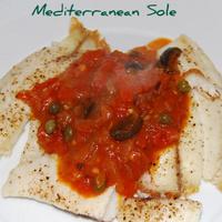 A Mediterranean Sole Recipe