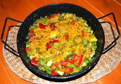 Paella Recipe - Chicken and Chorizo