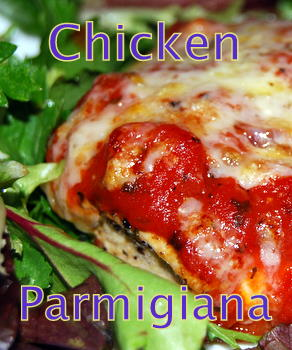 Healthy Chicken Parmigiana