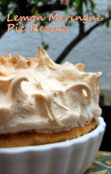 Mediterranean Lemon Meringue Pie