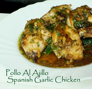 Juicy Pollo al Ajillo