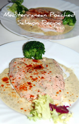 Mediterranean Diet Poached Salmon Recipe