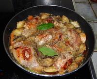 Rabbit Casserole - Mediterranean