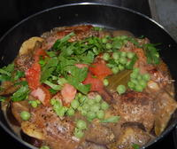 Fresh Vegetables in the Rabbit Stew