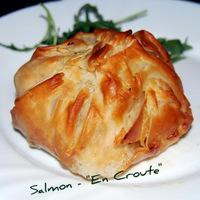 Mediterranean Salmon en Croute