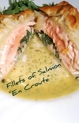 Mediterranean - Salmon en Croute