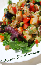 Spanish Salpicon de Mariscos Recipe