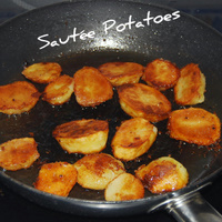 A Quick- Healthy - Fried Potatoes Recipe