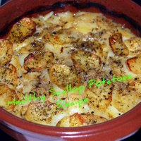 A Quick- Healthy - Scallop Potatoes Recipe