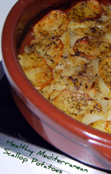 Mediterranean Diet Scallop Potatoes Recipe