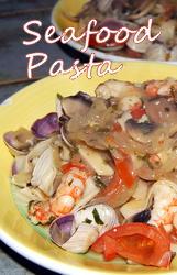 Mediterranean Seafood Pasta