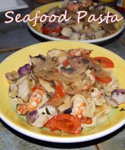 Great Mediterranean Seafood Pasta Recipe