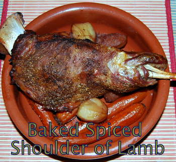 Spiced Shoulder of Lamb