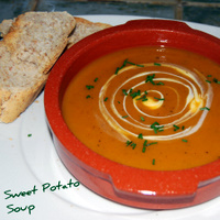 A Great - Healthy - Sweet Potato Soup Recipe