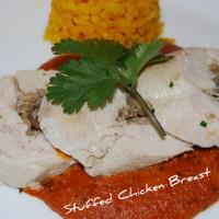 Sapnish Stuffed Chicken Breast