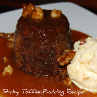 A Great - Sticky Toffee Pudding Recipe