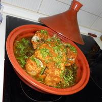 Superhaelthy Whole Chicken in a Tajine