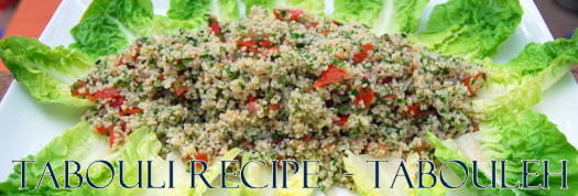Great Tabouli Recipe