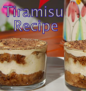 Tiramisu Recipe - Individual Portions