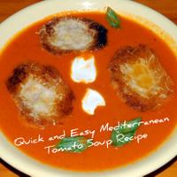 Mediterranean Tomato Soup Recipe
